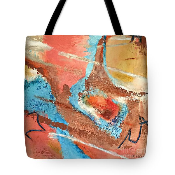Peaceful Journey Tote Bag