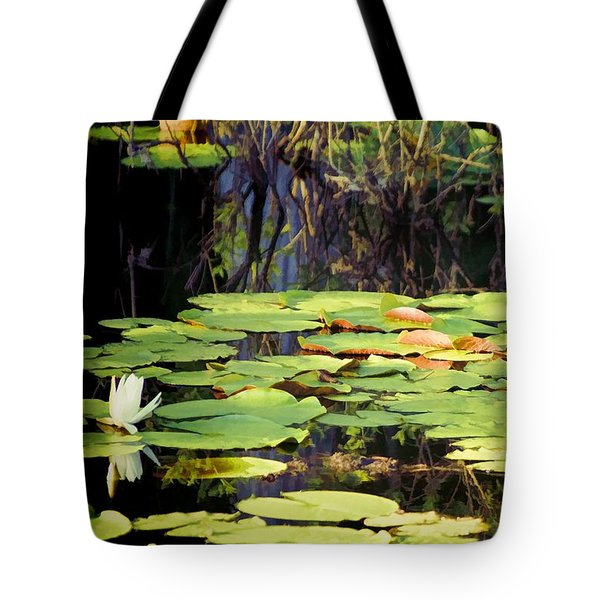 Tote Bag featuring the photograph Peaceful Light And Shadow by Jan Amiss Photography