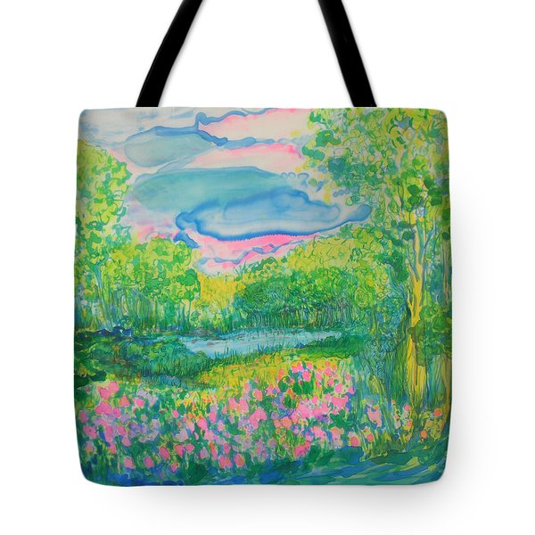Peaceful Moments Tote Bag by Susan D Moody