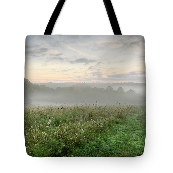 Peaceful Morning Tote Bag by Ann Bridges