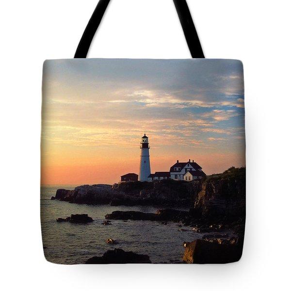 Peaceful Mornings Tote Bag