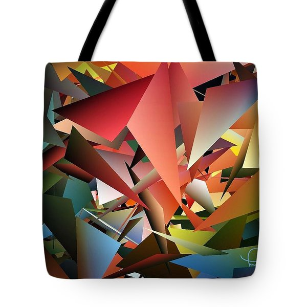 Peaceful Pieces Tote Bag
