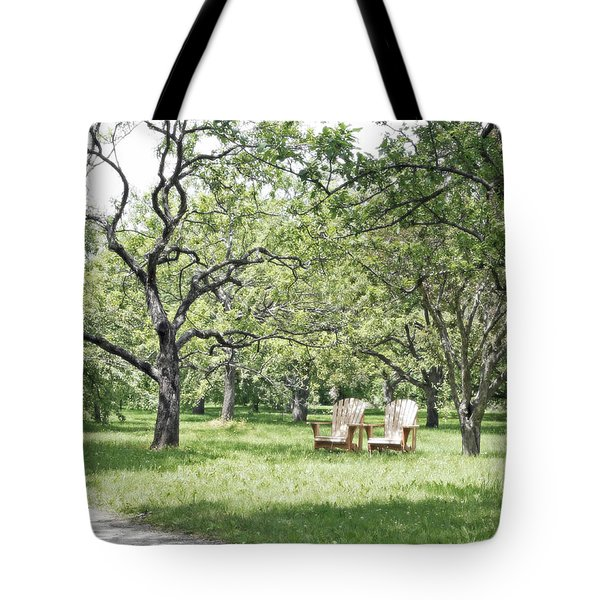 Peaceful Place To Rest Tote Bag by Brooke T Ryan