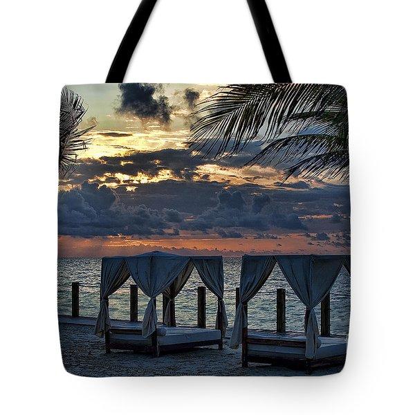 Peaceful Playa Tote Bag