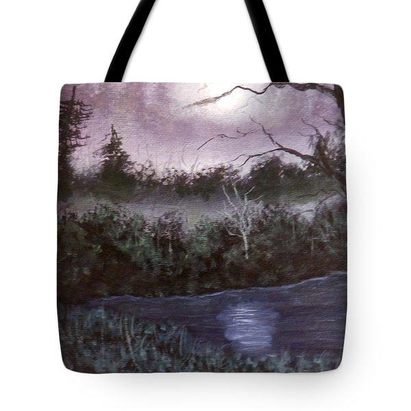 Peaceful Pond Tote Bag