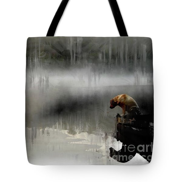 Peaceful Reflection Tote Bag