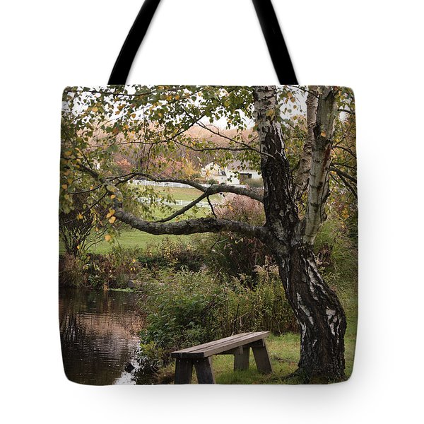 Peaceful Retreat Tote Bag