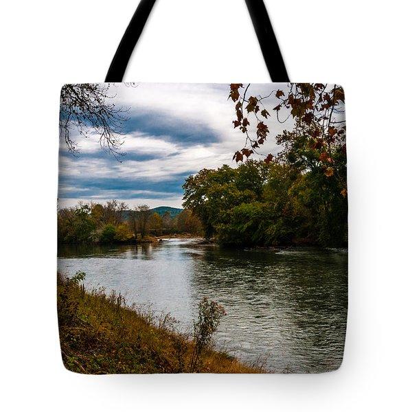 Peaceful River Tote Bag