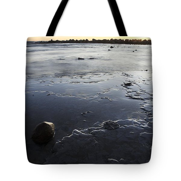Peaceful Shoreline Shallows Tote Bag