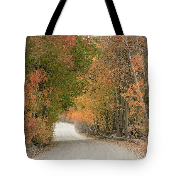 Tote Bag featuring the photograph Peaceful Sierra Morning by Sandra Bronstein