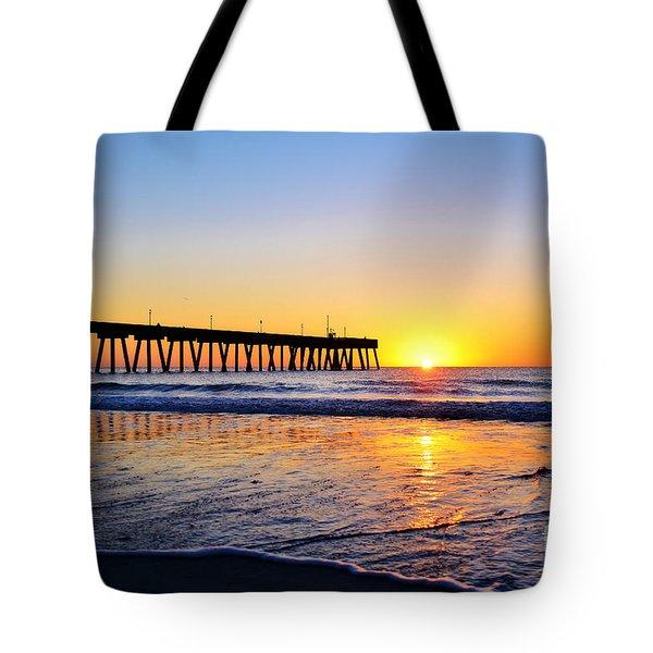 Peaceful Sunrise Tote Bag