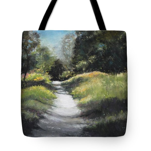 Peaceful Walk In The Foothills Tote Bag