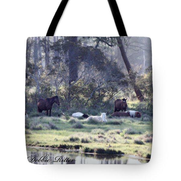Peaceful Water 2 Tote Bag