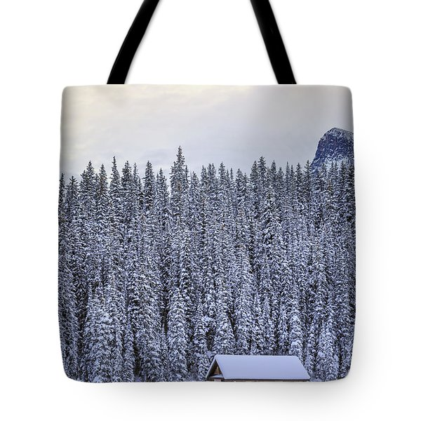 Peaceful Widerness Tote Bag