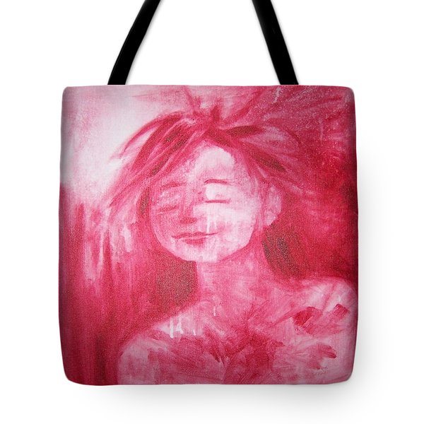 Peacefully Content Tote Bag