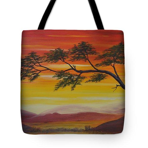 Peacefulness Tote Bag by Georgeta  Blanaru