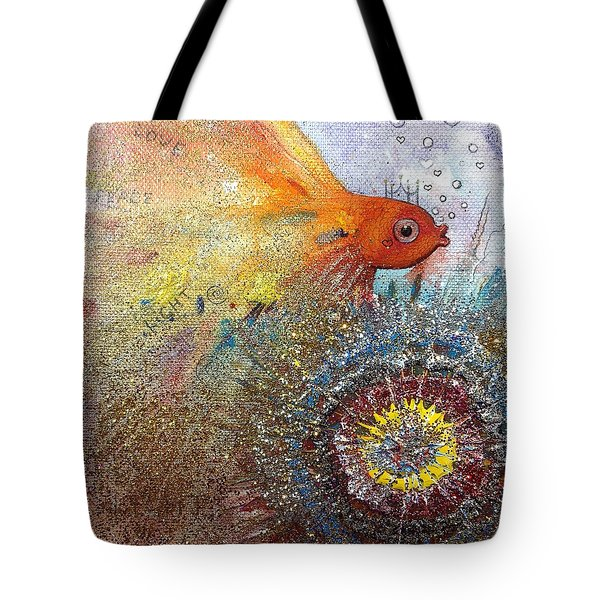 Peace,love,light  Tote Bag