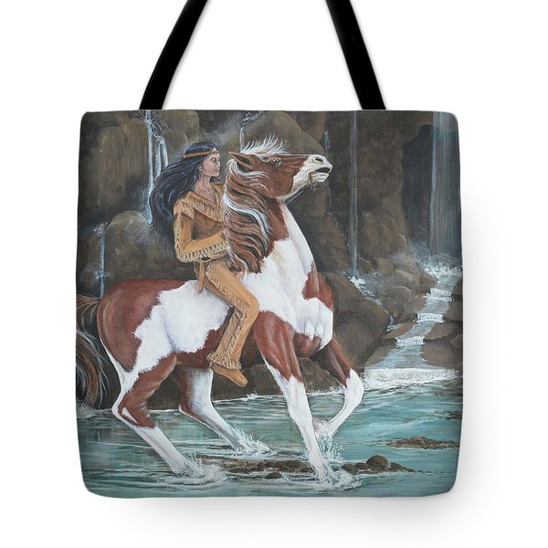 Peacemaker's Ride Tote Bag