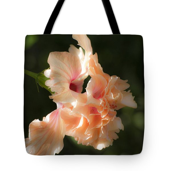 Peach Bliss Tote Bag