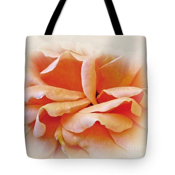 Peach Delight Tote Bag
