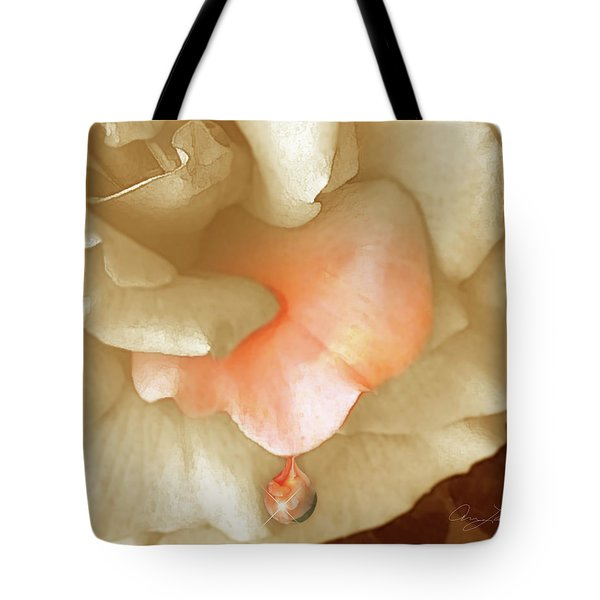 Peach Morning Tote Bag