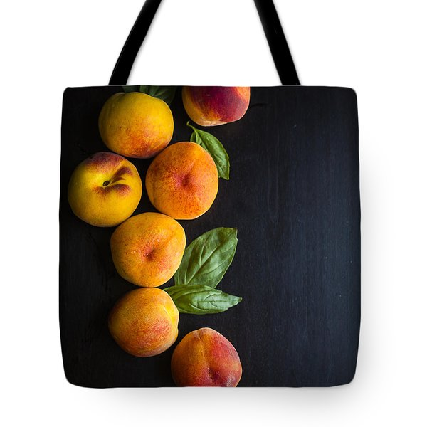 Peaches And  Basil Tote Bag