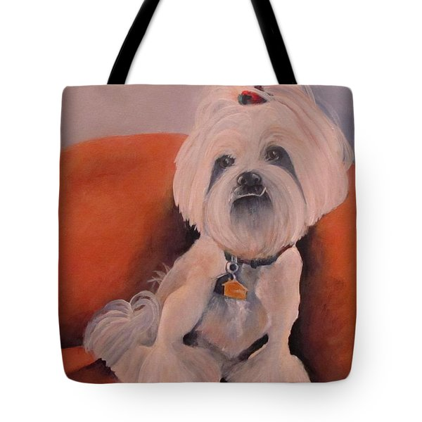 Peaches 'n Cream Tote Bag