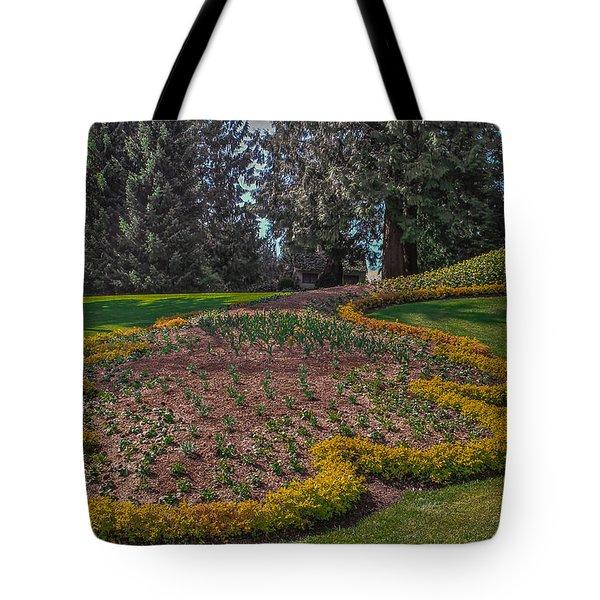 Peacock Garden Tote Bag by Eti Reid