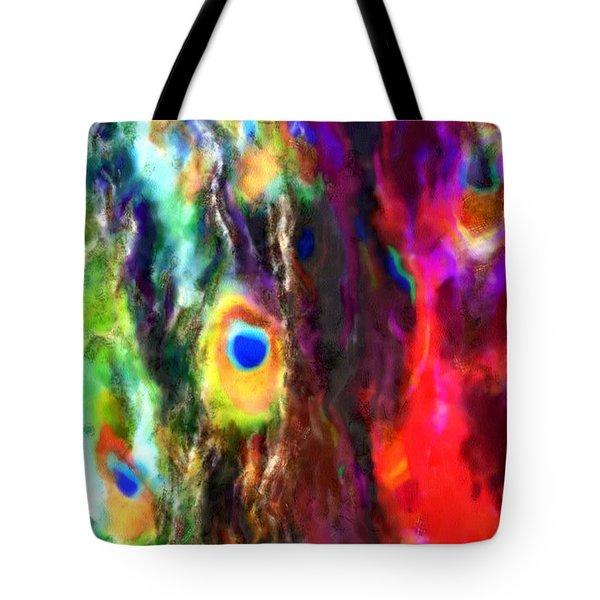 Peacock No. 1 Tote Bag
