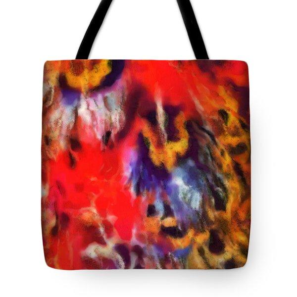 Peacock No. 2 Tote Bag
