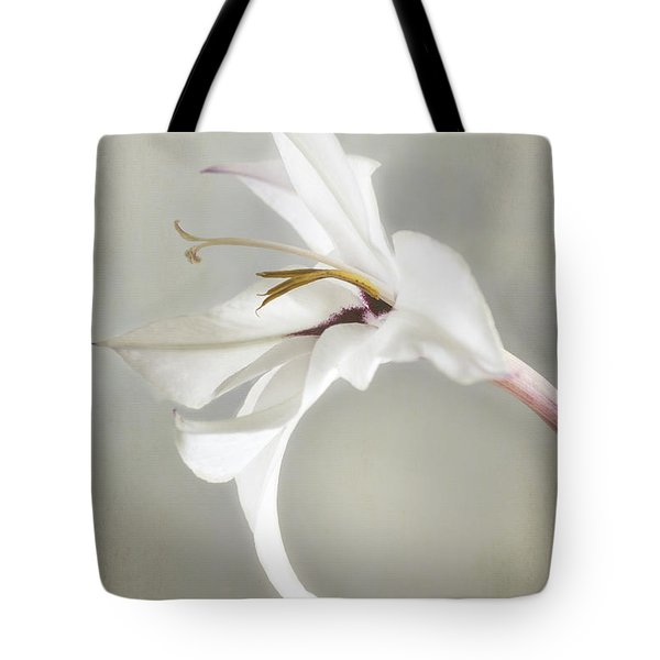 Peacock Orchid Tote Bag