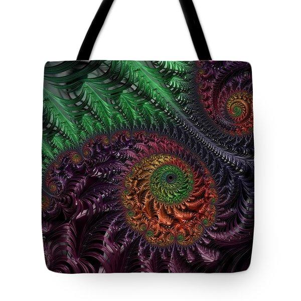 Peacock's Eye Tote Bag