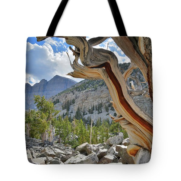 Peak Bristlecone Pine Tote Bag