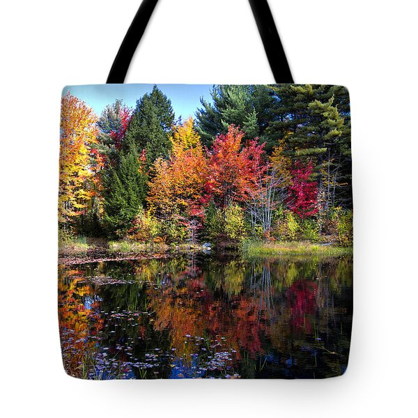 Peak Color  Tote Bag