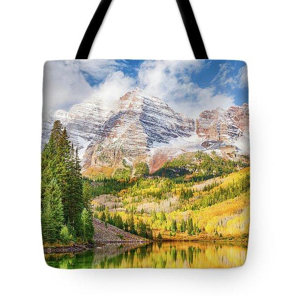 Peak Colors Tote Bag