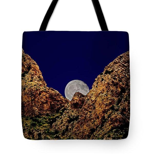 Peak Full Moon H03 Tote Bag