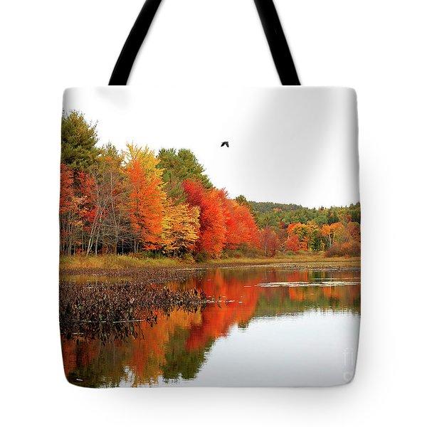 Peak New England Foliage Tote Bag