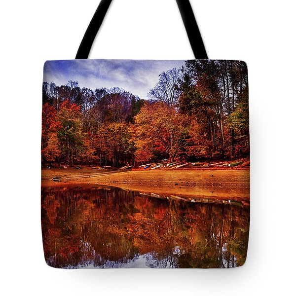 Tote Bag featuring the photograph Peak? Nope, Not Yet by Edward Kreis