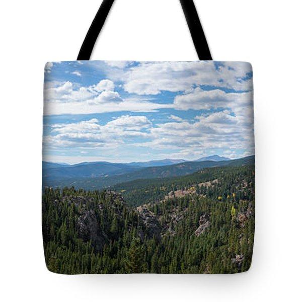 Peak To Peak  Tote Bag