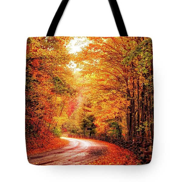 Peak Week Tote Bag by Dennis Baswell