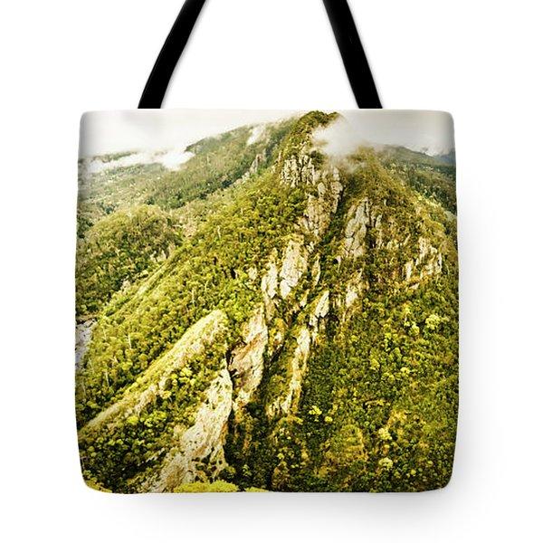 Peaks And Troughs Tote Bag