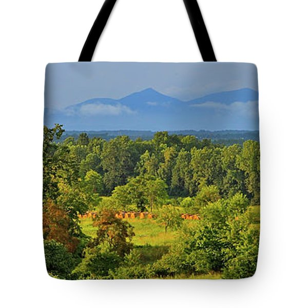 Peaks Of Otter After The Rain Tote Bag