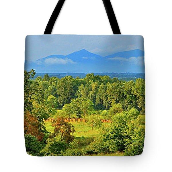Peaks Of Otter Rainstorm Tote Bag