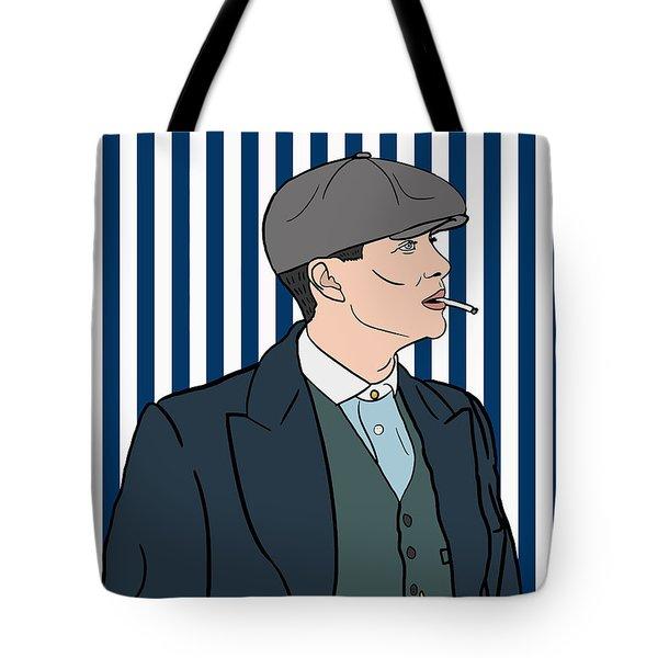 Peaky Blinders Tote Bag by Nicole Wilson