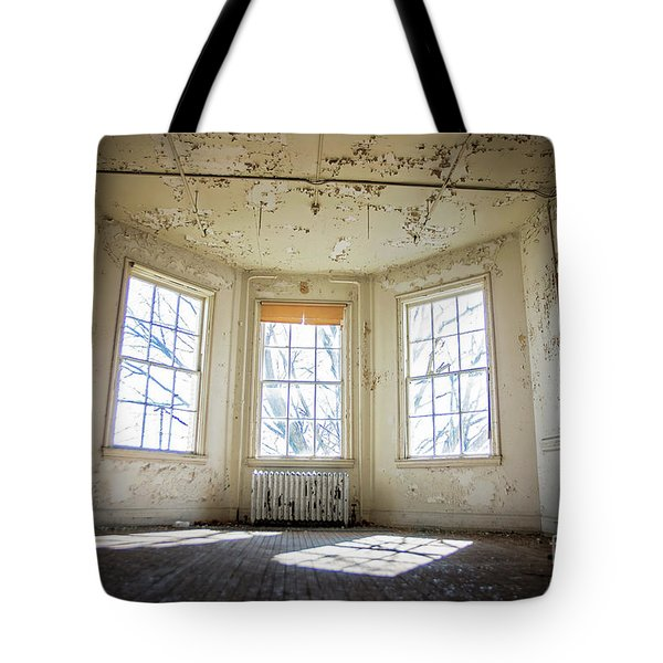 Pealing Walls Tote Bag