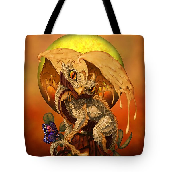 Peanut Butter Dragon Tote Bag