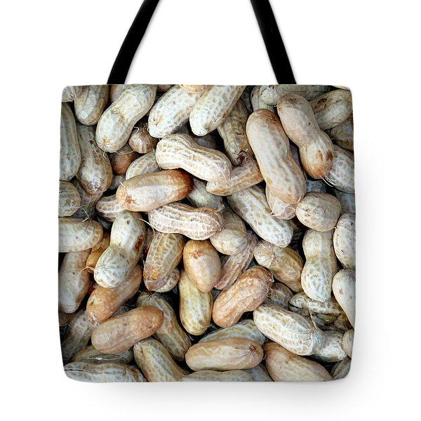 Peanuts On Sale At Fruit Market Tote Bag