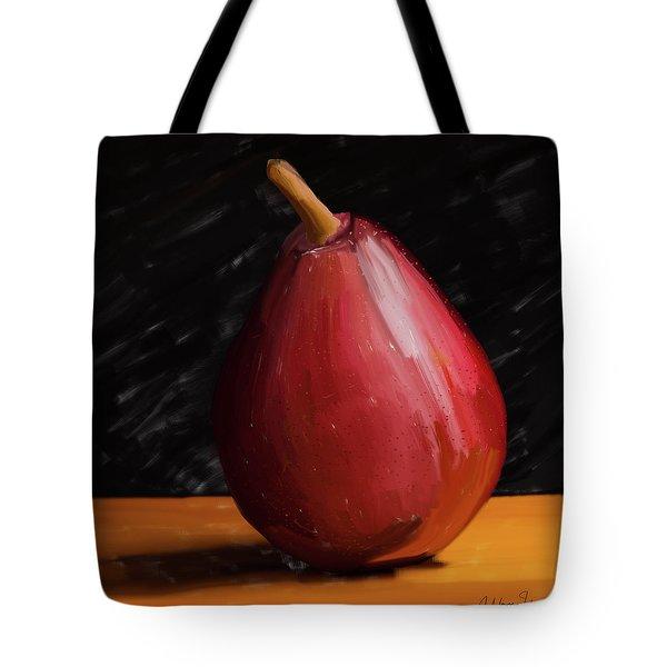 Pear 01 Tote Bag by Wally Hampton