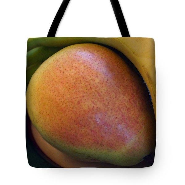 Pear And Banana Tote Bag