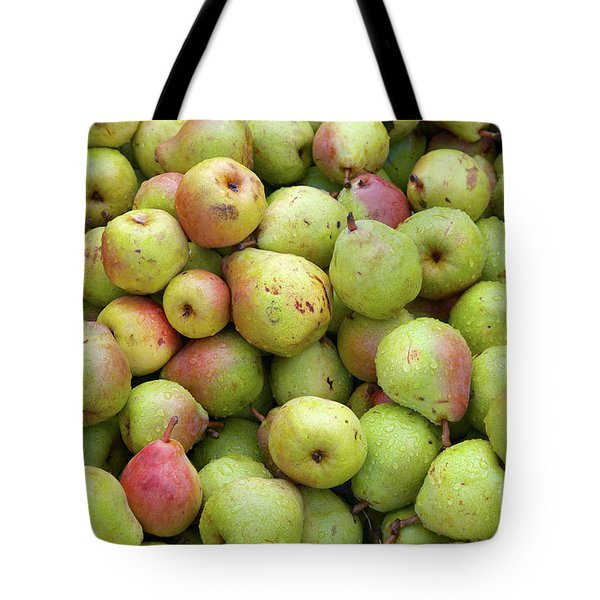 Pear Harvest Tote Bag